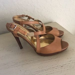 Coach women's heeled sandals.